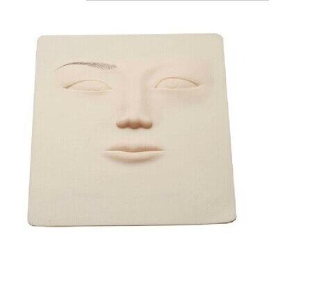 10PCS 3D Πυριτική Πυρίτιδα Δερματοσάκχαρα Πρακτική Δέρμα μόνιμα μακιγιάζ φρυδιών χείλη κατάρτισης δέρμα μόνιμη Μακιγιάζ Eyeliner Practice Skin