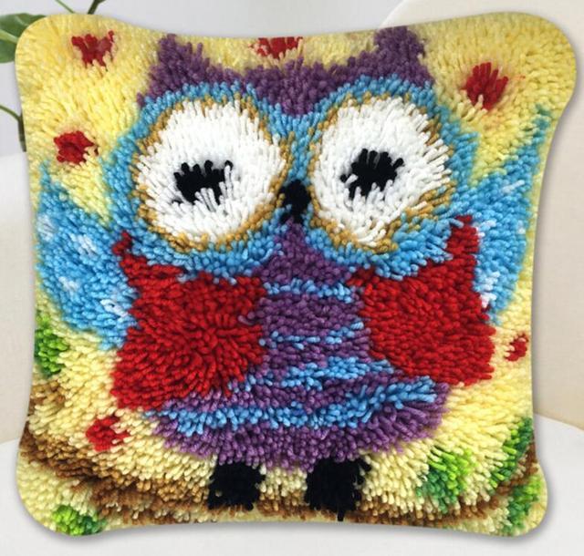 Beroemd 5d Kussen borduren tapijt deken breien naald vilt ambachtelijke &JO21