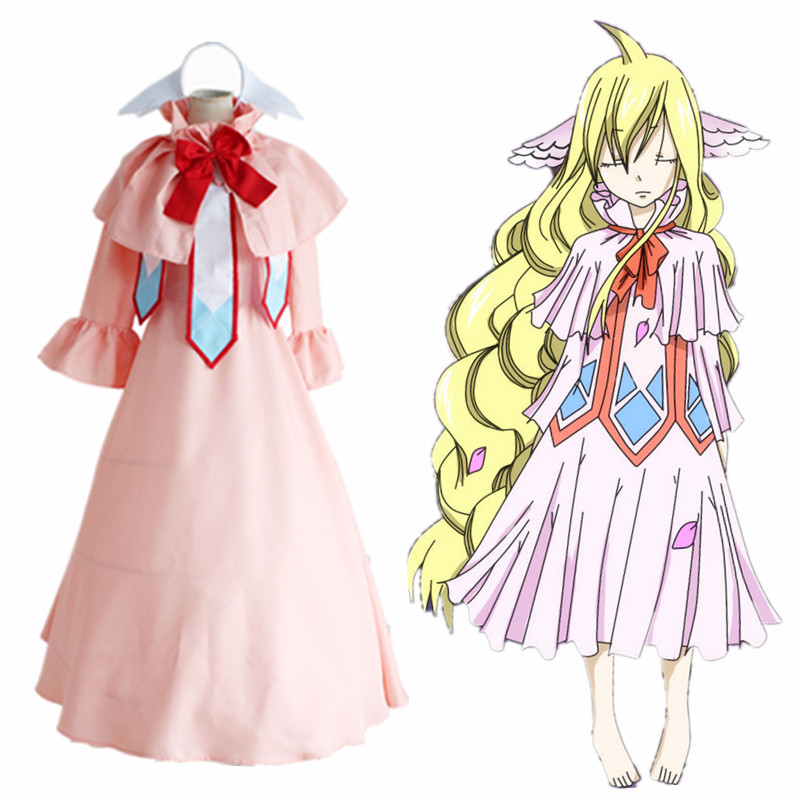 JP Anime Fairy Tail Cosplay Costume Halloween Dress Adults