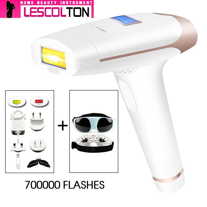 IPL Laser Epilator Håndholdt Laser Permanent Hårfjerning 300000 - Barbering og hårfjerning - Foto 1