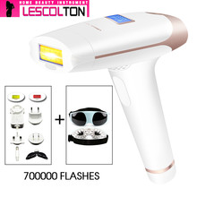 IPL Laser Epilator Handheld Laser Permanent Hair Removal 300000 Pulse Photon Skin Rejuvenation Hair Removal Machine lescolton ipl hair remover laser 300000times hair removal epilator photon whole body bikini hair removal permanent laser machine