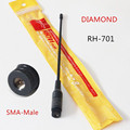 Antena Diamond RH701 Sma-macho Dual Band 144/430 MHz RH-701 Antena para BAOFENG UV-3R PX-2R TH-F5 TH-UVF9 PX-2R KG-UV6D TH-UV3R