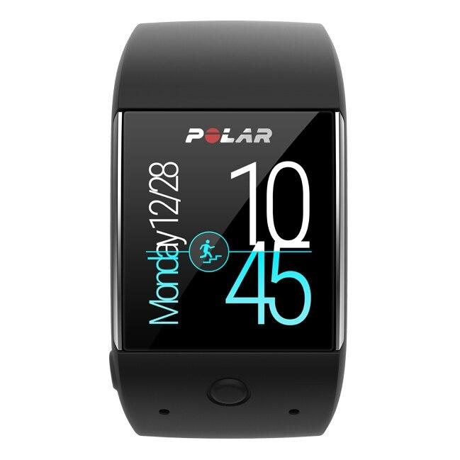 Спортивные «умные» часы POLAR М600 BLACK цены онлайн