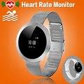 Женщины Металл Водонепроницаемый Bluetooth Smart Watch Часы Smartwatch С Шагомер Heart Rate Monitor Для Android IOS