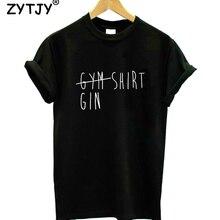 gym gin shirt Women tshirt Cotton Casual Funny t shirt For Lady Yong Girl Top Te