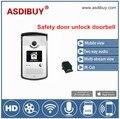 Waterproof Safety remote door unlock wireless video door phone two Way Audio/Video/Mobile View IP Camera