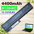 4400mAh Laptop Battery for HP Business Notebook 6910p 6510b 6710b 6710s 6715b 6715s nc6100  NC6105 418867-001  418871-001