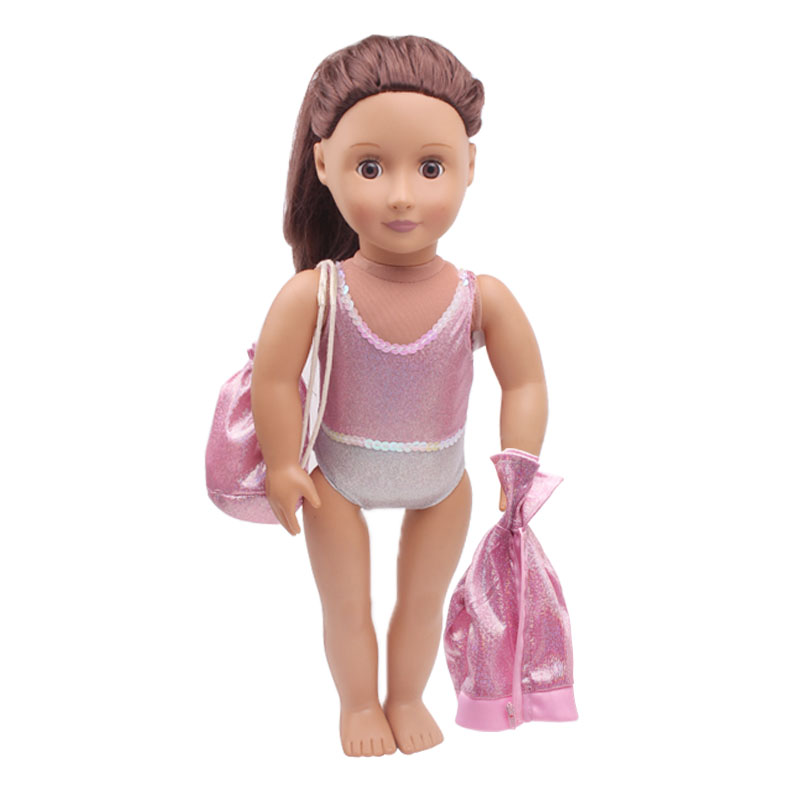 "Clothing to fit 18/"" American Girl Dolls 05a Gymnastics Dance Leotards Swimsuit"