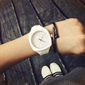 Fashion Trend Sports Square Jelly Candy Korean Silicone Quartz Wrist Watch Gift for Students Lovers Women Ladies OP001