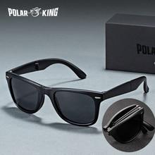 POLARKING Brand Designer Polarized Folding Men Sunglasses Fo
