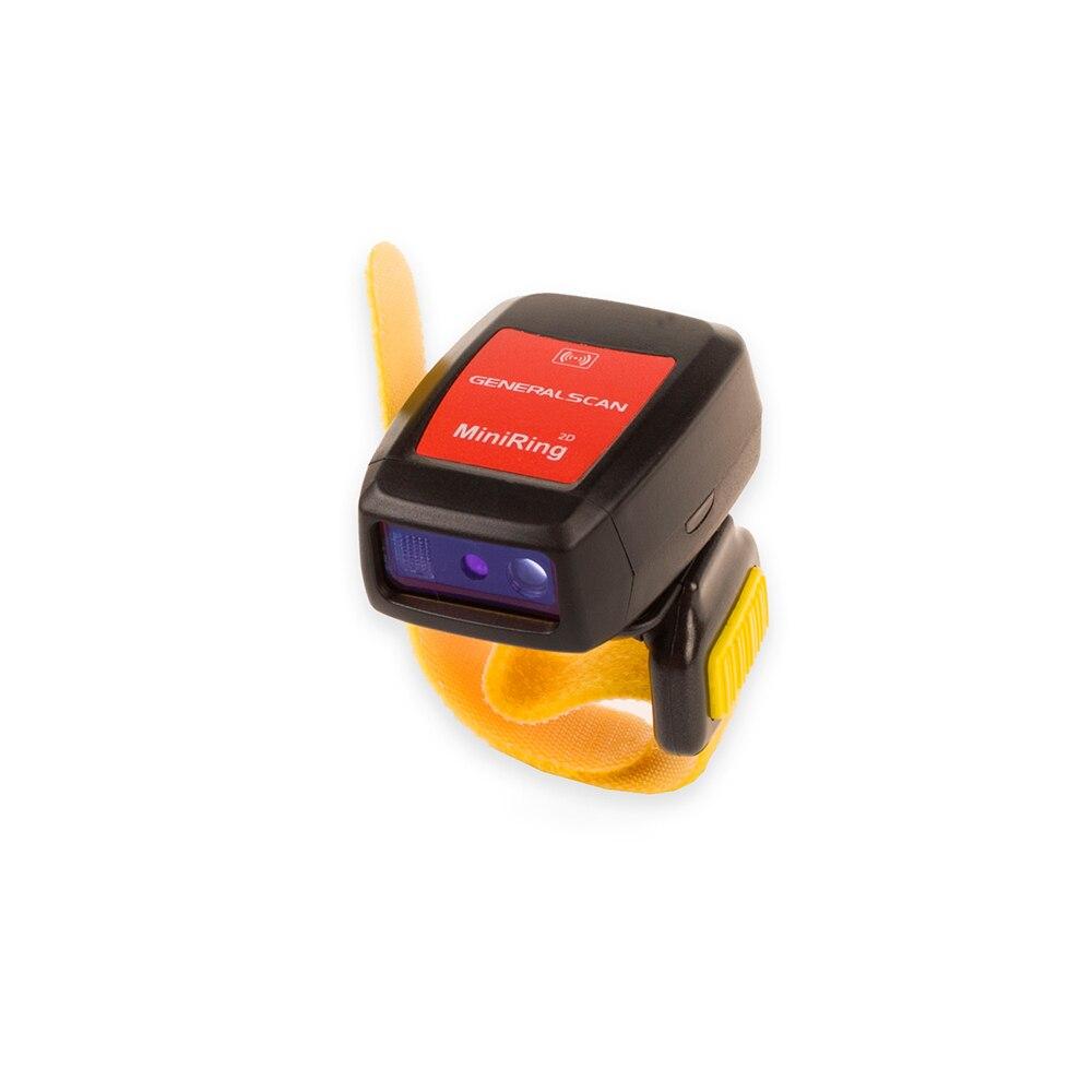 2D Ring Barcode Scanner GS R5000BT Bluetooth Mobile Barcode Scanner with Bluetooth dongle D100 for Desktop Computer
