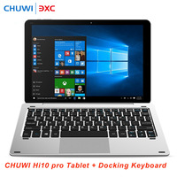 CHUWI Hi10 Pro 2 In 1 Ultrabook Tablet PC With Keyboard 4G 64G 10 1 Windows