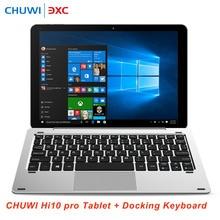 Chuwi Hi10 Pro 2 в 1 Ultrabook Планшеты клавиатура Windows10 и Android5.1 Планшеты PC 4 г 64 г Intel Z8350 4 ядра Bluetooth HDMI