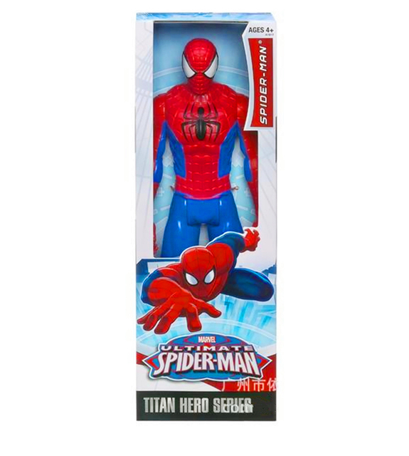 """30CM 12""""  Amazing Spider-Man Movie Spiderman Ultra Hero Series Official Action Figure Toys  Retail Box T-018"""