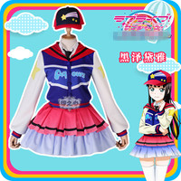 Anime LoveLive Sunshine Kurosawa Dia Theater Edition Takami Chika Next SPARKLING Uniforms Cosplay Costume B