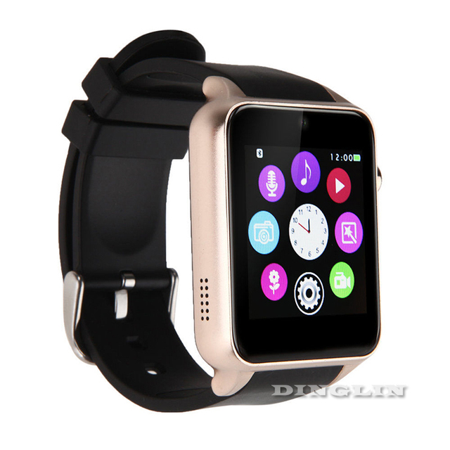 GZDL Smartwatch for IOS Android GT88 SIM Card Bluetooth Camera Heart Rate Monitor Fitness Sleep Tracker NFC Wristwatch WT8002