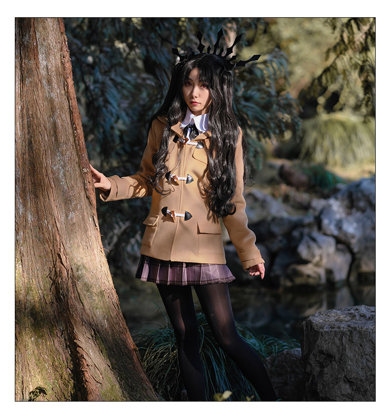 Fate/Grand Order Rider Ishtar Tohsaka Rin Cosplay Costume Japanese Anime Winter Uniform Full Set Suit Outfit Clothes