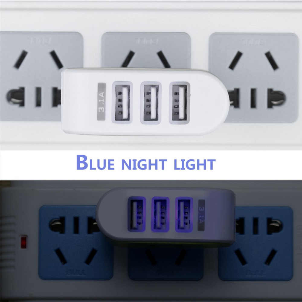 Uniwersalny cukierki kolor 3USB ładowarka podróżna adapter do ładowarki ściennej inteligentne mobilne telefon ładowarka zasilająca dla tabletów