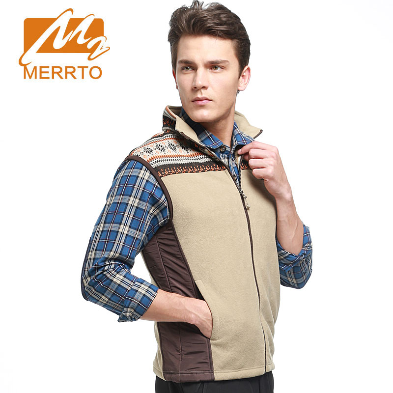 MERRTO Mens Vest Outdoor Sports Equipment Windproof Warm Jacket Breathable Comfortable Free And Flexible Without Static Jacket
