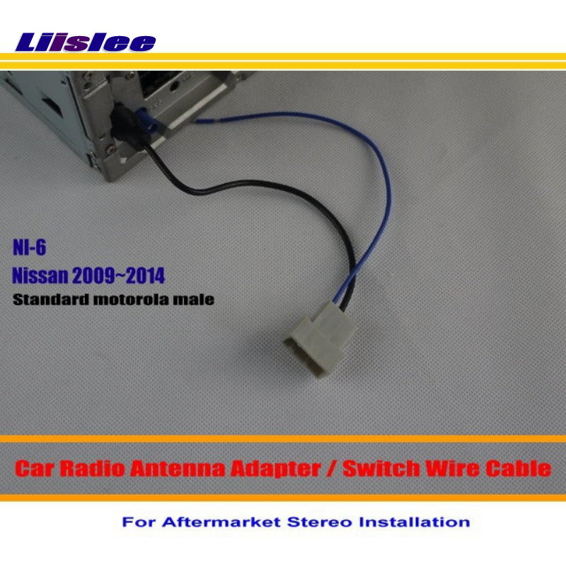 Liislee For Nissan Frontier GT-R Juke March Maxima- Car Radio Antenna Adapter / Aftermarket Stereo Antenna Wire / Switch Cable