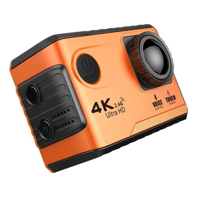 Sansanail F100B Action Camera Unisex Camera and Accessories color: Black White