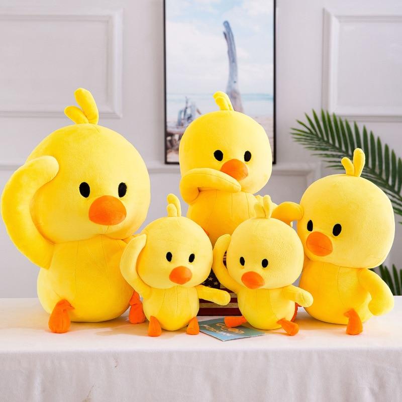Cute Little Duck Plush Toys Funny Emoji Plush Toys For ...