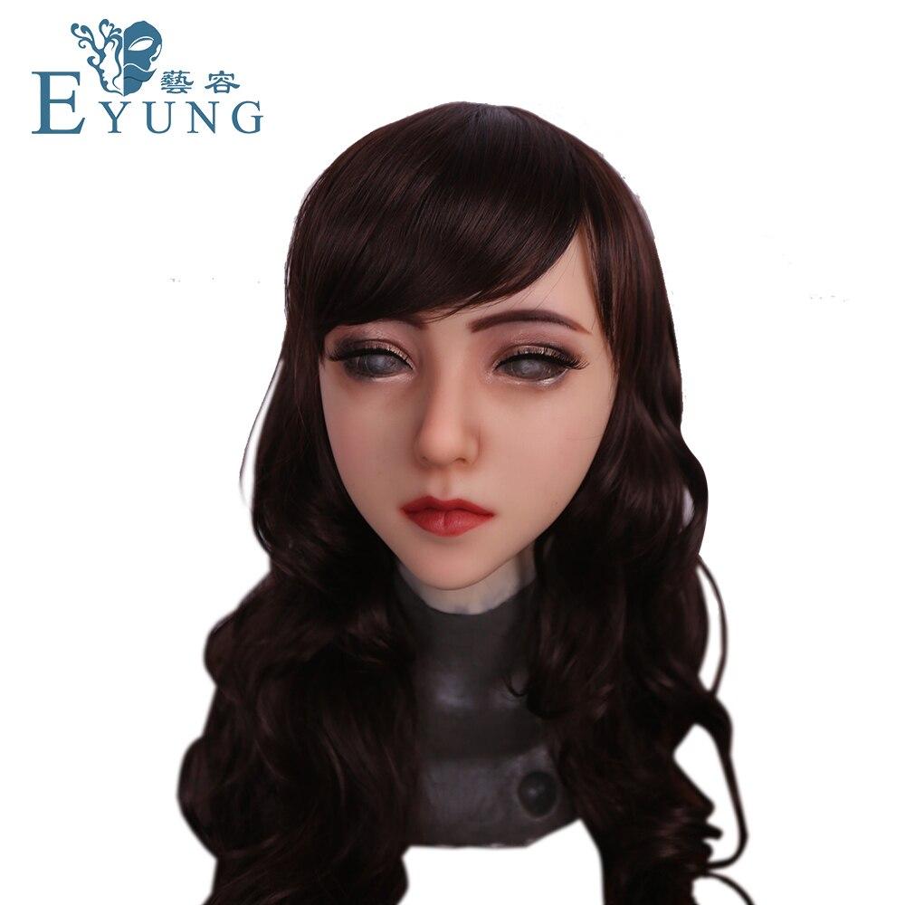 EYUNG 2019 new Avila silicone female mask for male to shemale crossdressing men Quality Handmade Soft