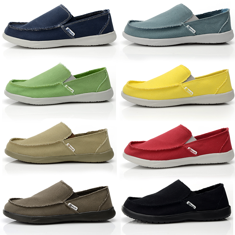 ФОТО Spring and Autumn Male Casual Canvas Shoes Male Breathable Cotton-made Shoes Flat Heel Soft Canvas Shoes Many Colors Plus Size