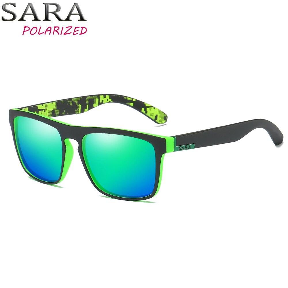 SARA de DESIGN DA MARCA Óculos Polarizados Óculos de Sol Das Mulheres Dos  Homens de Condução 34584114f0