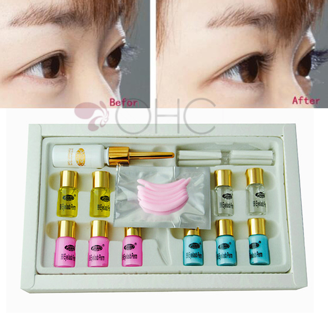 Eyelashes Wave Lotion Kit Eye Rod Glue Set T0 3 Months Extension