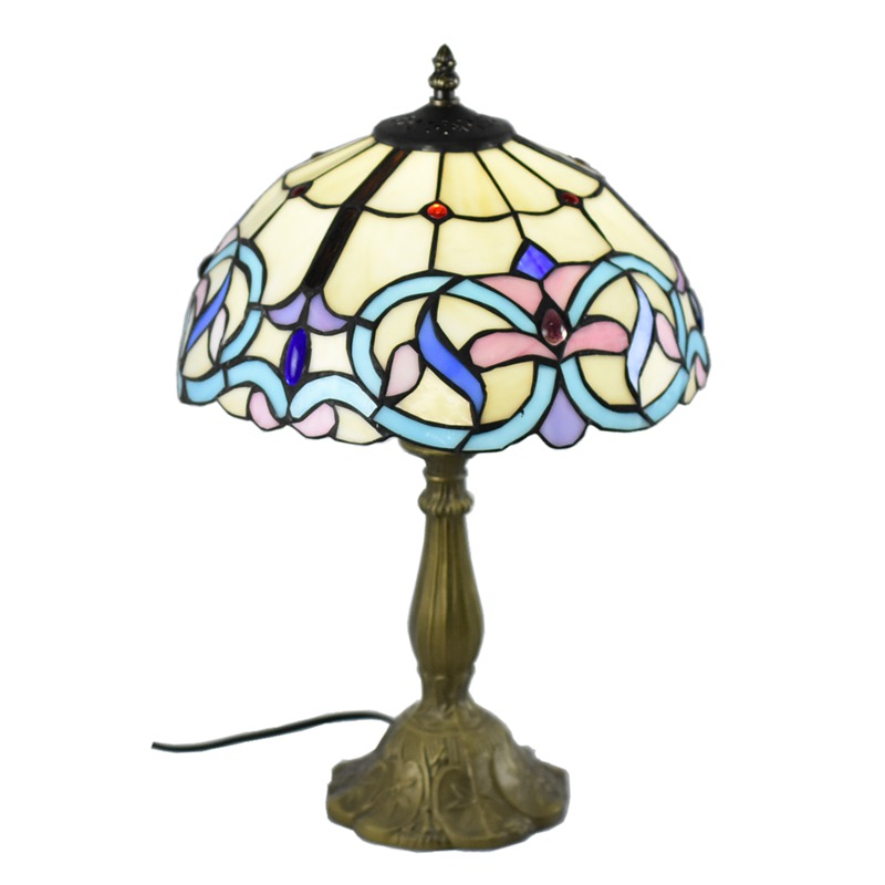 Atreus Table Lamp Rare Antique Vintage Brass Bronze Dale Desk Tiffany Lamps fits for home bed reading dinner room free shipping