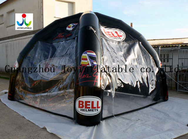 Small inflatable dome tent with 2 clear walls for events & Small inflatable dome tent with 2 clear walls for events-in Tents ...