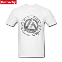 T Shirts Vintage Jiu Jitsu Apparel Logo Boys High Quality T Shirts For Men Short Sleeves