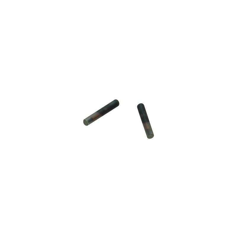 40pcs FDX-B Dog Microchip RFID Glass Transponder Animal Id Tag 1.4*8mm iso11784 5 fdx b em4305 long range 134 2khz rfid animal ear tag for cow sheep management