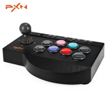 Original PXN-0082 Arcade Wired Joystick Game Controller USB Interface for PC PS3 PS4 Xbox one