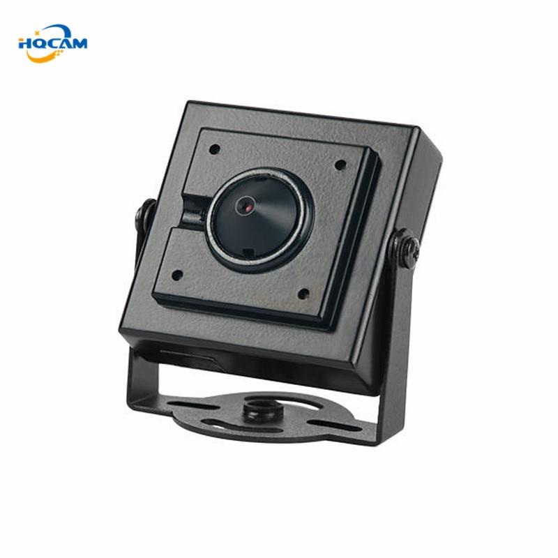HQCAM 600tvl CMOS Security Indoor CCTV Mini  camera 3.7mm Lens Surveillance cctv Camera mini camera Mini CCTV Security HQCAM