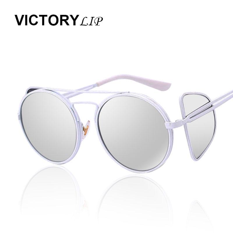 glasses shop online 2bla  2016 Fashion Strange Hippie Design Women Sunglasses England Men novel Round  UV400 Mirror Lady Couple Sun