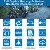 Fodsports M1-S Pro Helmet intercom Headset Motorcycle Waterproof Intercom Bluetooth interphone 8 Rider 2000M Intercomunicador review