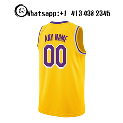 Basketball Jersey Men Sport Wear Quick Dry Movie James Top Quality