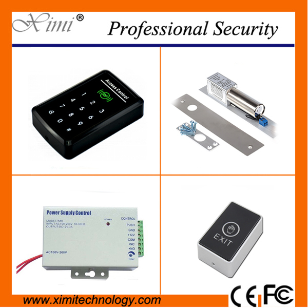 Good quality without software single door access control 1000 fingerprint user with magnetic lock access control system kit single access control 1000 user without software smart switch to open with keyboard 13 56mhz card reader f007b access controller