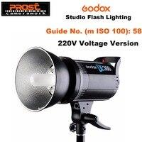 Godox DE300 компактный студийный стробоскоп 300В головка лампы освещения 300Ws 220 В/110 В GN58 5600 К