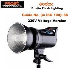 Godox DE300 300W 컴팩트 스튜디오 플래시 라이트 스트로브 조명 램프 헤드 300Ws 220V GN58 5600K