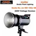 Godox DE300 300W Compact Flash da Studio Luce Stroboscopica Lampada di Illuminazione Testa 300Ws 220V GN58 5600K