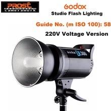 Godox Flash de estudio compacto DE300, 300W, luz estroboscópica, iluminación de 300Ws, 220V, GN58, 5600K