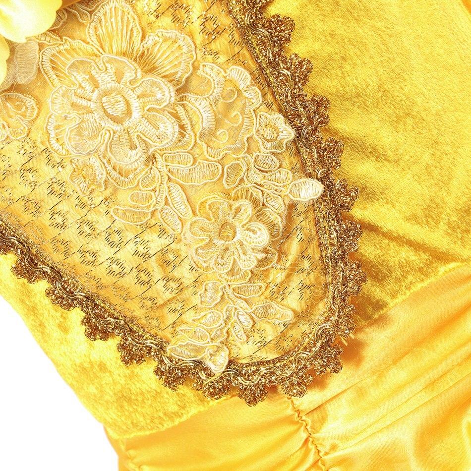 Girls Belle Costume (6)