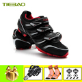 Tiebao  профессиональная обувь для велоспорта  Sapatilha Ciclismo  MTB  для мужчин и женщин  для велосипеда  самоблокирующаяся обувь  дышащие велосипедны...