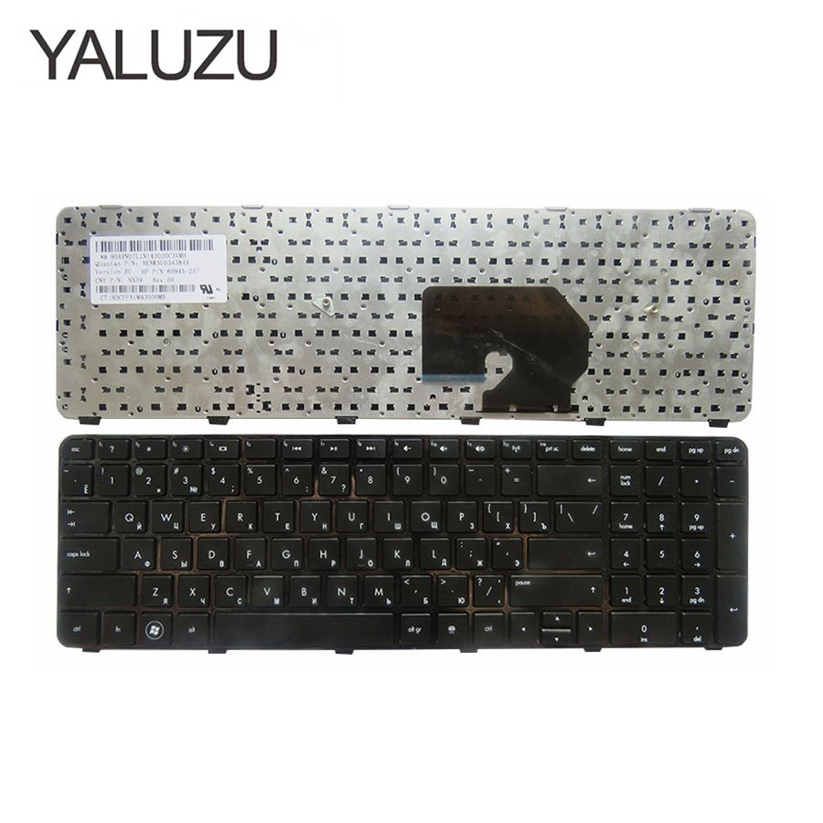 FOR HP Pavilion DV7-6100 DV7-6200 DV7-6000 Dv7-6152er RU Hpmh-634016-251 639396-251 634016-251 Russian Laptop Keyboard RU