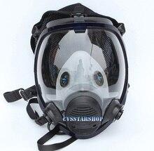 الكيميائي اللوحة الرش قناع واقي من الغاز نفس ل 3M 6800 قناع واقي من الغاز صناعة كامل الوجه قناع الوجه تنفس شحن مجاني