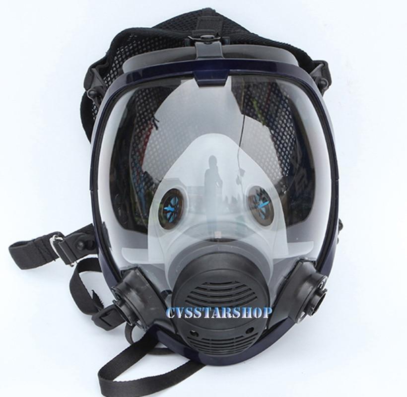 Chemcial Peinture Pulvérisation masque à gaz Même Pour 3 M 6800 masque à gaz L'industrie Plein Visage Masque Respiratoire Livraison Gratuite