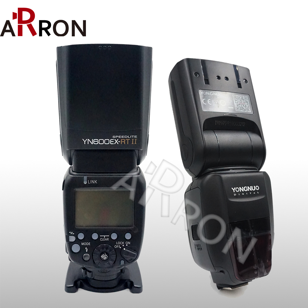 <font><b>YONGNUO</b></font> Hot YN600EX-<font><b>RT</b></font> II 2.4G Wireless HSS 1/8000s Master TTL Flash <font><b>Speedlite</b></font> for Canon Camera as <font><b>600EX</b></font>-<font><b>RT</b></font> YN600EX <font><b>RT</b></font> II image